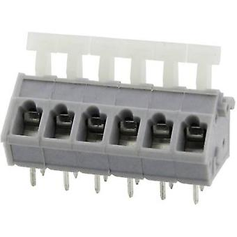 Degson DG243-5.0-03P-11-00AH Spring-loaded terminal 3.31 mm² Number of pins 3 Grey 1 pc(s)