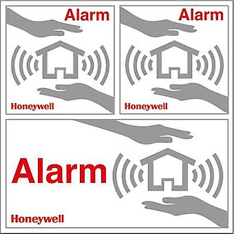 Honeywell Home HS3WS2S Warning sticker