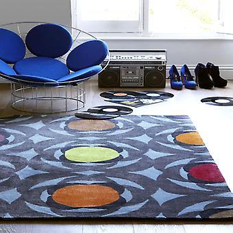 Teppiche - Relax blau Kreis - REL02