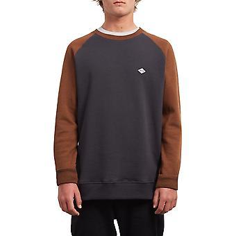Volcom Homak Crew Sweatshirt in Hazelnut