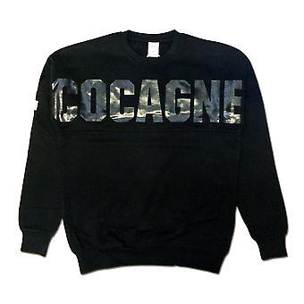 Crooks & Castles Coca Dolman Sweatshirt Black