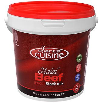 Essential Cuisine Gluten Free Halal Beef Flavour Stock Mix
