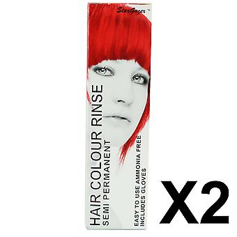 Semi Permanent Hair Dye by Stargazer - Golden Flame x 2 Packs