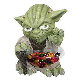 Star Wars dulces mini tazón de fuente para Yoda caramelo soporte, plástico (con plato).