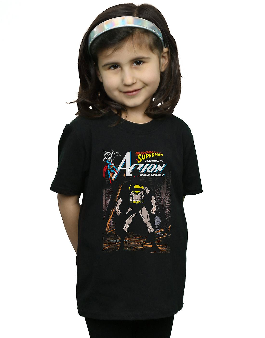 DC Comics Girls Superman Action Comics 644 Cover T-Shirt