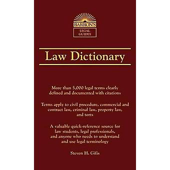 Law Dictionary (7th Revised edition) by Steven H. Gifis - 97814380069