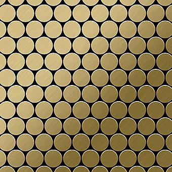 Kovová mozaika Titan slitiny dolar-ti-GB