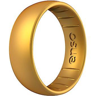 Anillo de silicona la serie Enso anillos elementos clásicos - oro