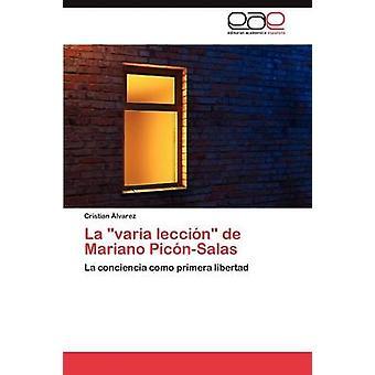 Varia Leccin de la Mariano PicnSalas durch imminent Cristian