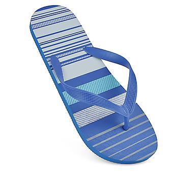 Sandrocks Mens Striped Flip Flops