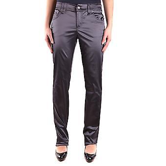 John Galliano Ezbc164004 Women's Grey Cotton Pants