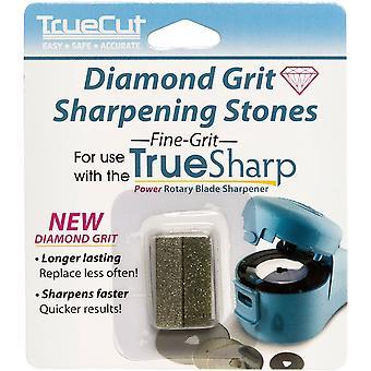 TrueSharp المبراة غرامة الماس حصى استبدال الحجارة-