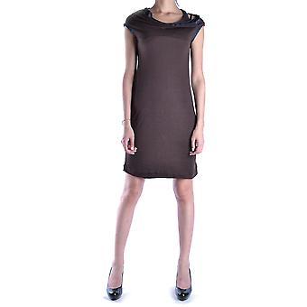 Liviana Conti Ezbc261004 Women's Brown Modal Dress