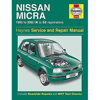 Nissan Micra Service and Repair Manual - 93-02 - 9781785212864 Book