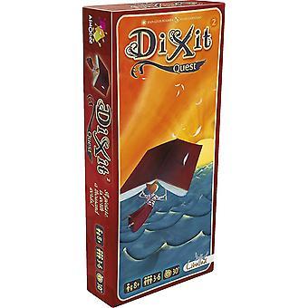 Pacote de expansão do Dixit 2 Quest para o jogo de cartas-83 cartões de imagem incluídos