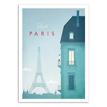 Art-Poster - Visit Paris - Henry Rivers