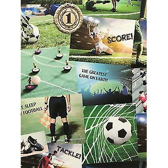 Football Collage Wallpaper Fine Decor FD41915