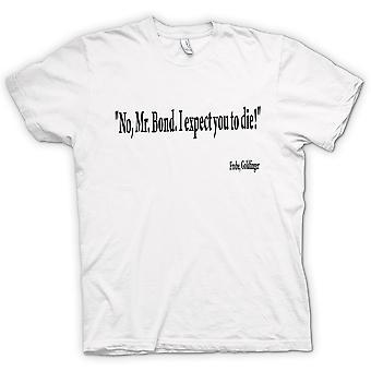 Kinder T-shirt - Goldfinger - Zitat - Gert Frobe