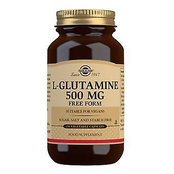 סולגאר L-גלוטמין 500 מ ג 250 (1322)
