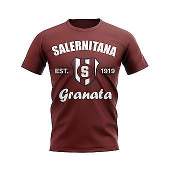 Salernitana Established Football T-Shirt (Maroon)