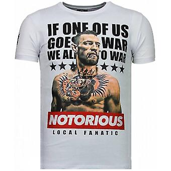 Conor McGregor-rhinestone T-shirt-vit