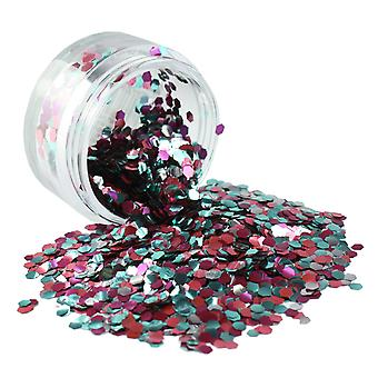 PaintGlow Biodegradable Cosmetic Glitter Rainbow Fish