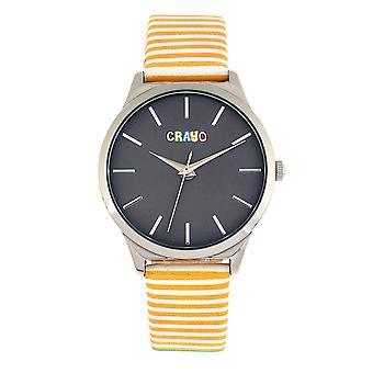 Crayo aboard Unisex Watch-keltainen