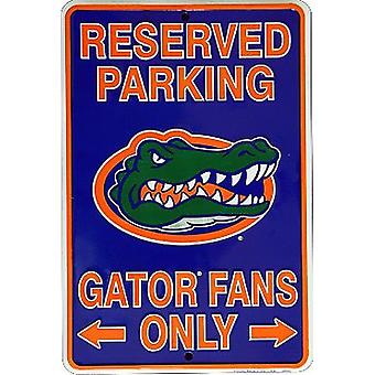 """Florida Gators NCAA """"Gator Fans Only"""" Señal de Estacionamiento Reservado"""