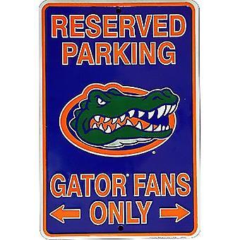"Florida Gators NCAA ""Gator Fans Only"" Reserved Parking Sign"