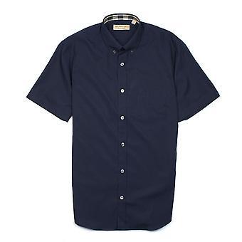 Burberry Cambridge maniche corte Camicia Navy Blue