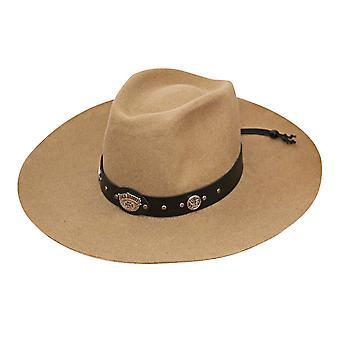 Jack Daniels beżowy wody miękkiej wełny repelent kapelusz