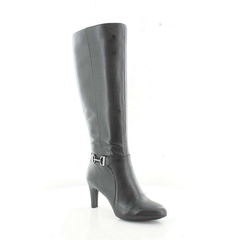 Alfani Damskie Perrii Skóra zamknięte toe knee high fashion buty mLvHs