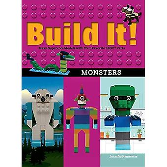 Build It! Monsters: Make Supercool Models with Your Favorite LEGO (R) Parts
