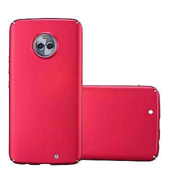 Cadorabo fallet för Motorola MOTO x4 fodral täcka-hardcase plast telefon väska mot repor och stötar-skyddande fall stötfångare Ultra Slim tillbaka fallet hårt omslag