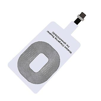 Qi Adapter-Wireless receiver for charging iPhone-white