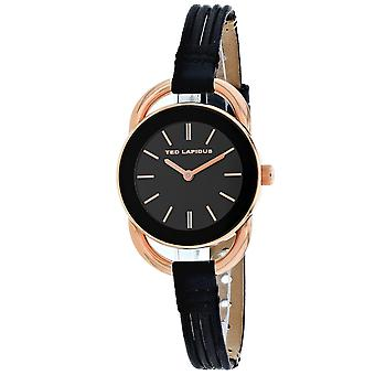 Ted Lapidus Women's Classic Black Dial Watch - A0681UNINN