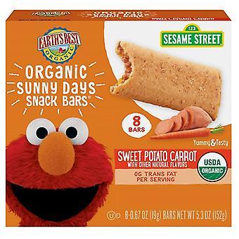 Earth's Best Organic Sunny Days Snack Bars Sweet Potato Carrot