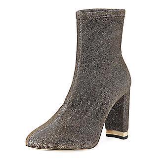 Michael Michael Kors Womens Mandy bootie Closed Toe Mid-Calf Fashion Boots