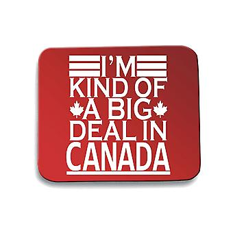 Red mouse pad pad fun2125 im kind of a big deal in canada