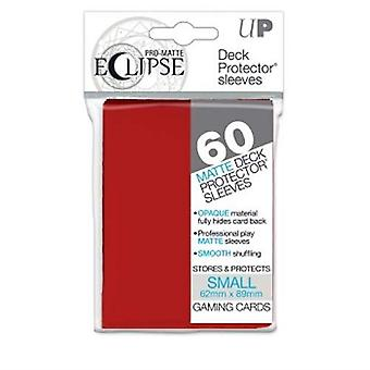Pro-Matte Eclipse Apple Red Small Deck Protector sleeve 60ct (Pack of 12)