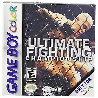 Ultimate Fighting Championship GBA spel (GameBoy Advance)