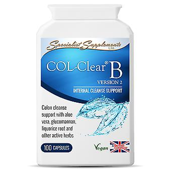 COL-Clear B version 2 - 100 capsules