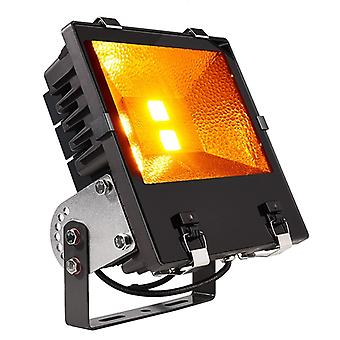 LED Outdoor Spotlight overstroming COB 120 Amber 1700 K 120W 120 ° antraciet IP65