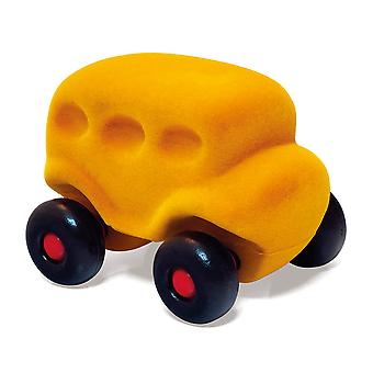 Rubbabu Bus Little (Yellow) Vehicle Push Along Playing Toys Kids Child
