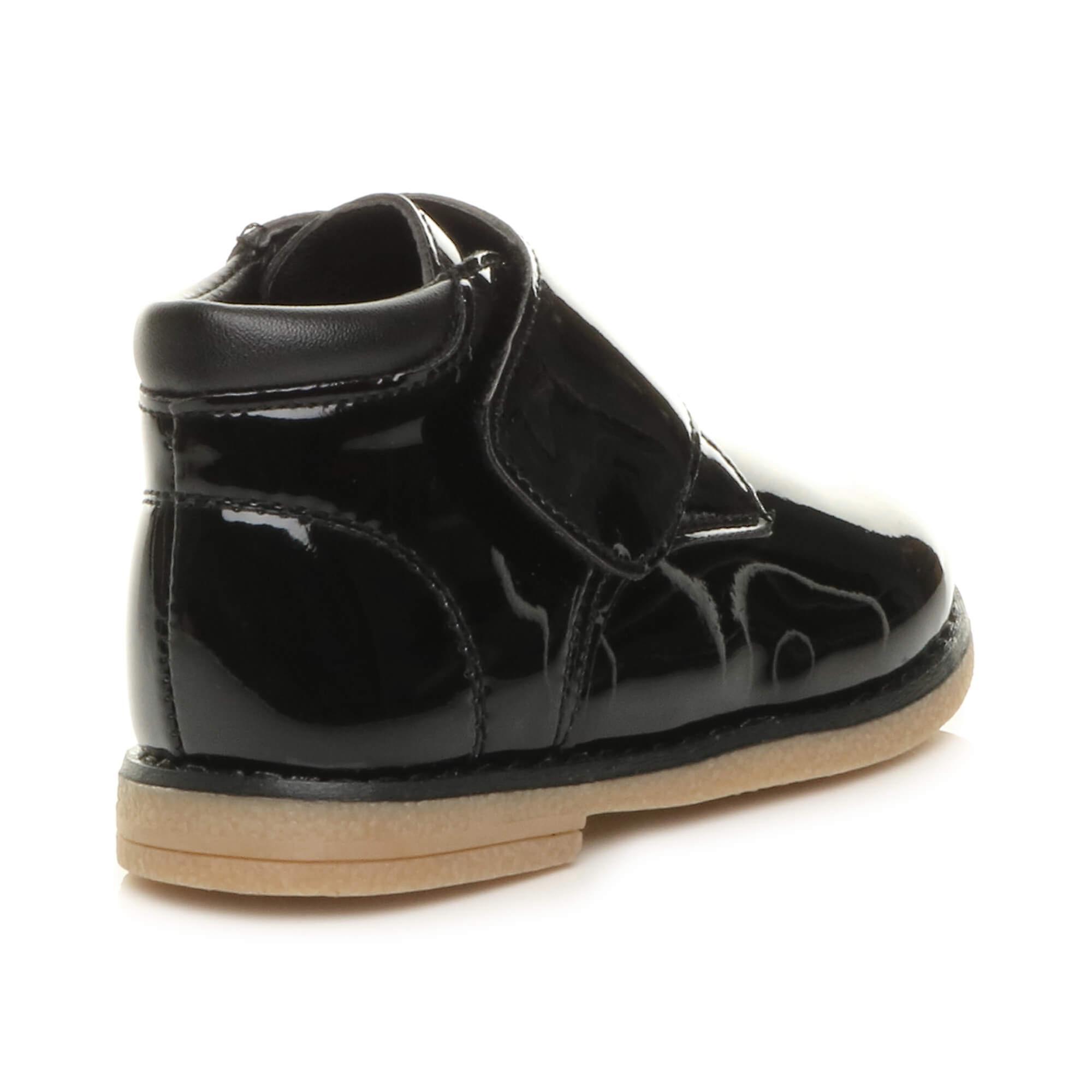 Ajvani Girls Toddler Casual Strap Desert Boots Shoes
