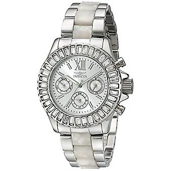 Invicta  Angel 18867  Plastic, Metal Chronograph  Watch