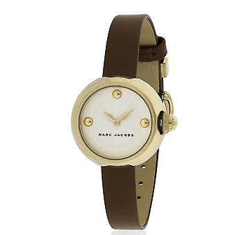 Marc Jacobs MJ1431  Female Brown Leather 28MM Quartz Analog Watch