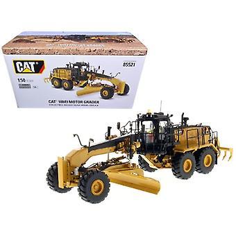 CAT Caterpillar 18M3 Motor Grader avec Opérateur High Line Series 1/50 Diecast Model par Diecast Masters