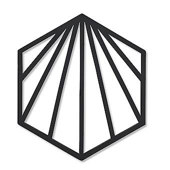 Zone Shell Trivet, Black