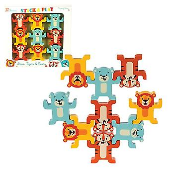 Schylling - little classics stack & play animals